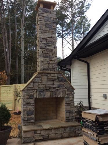 12 Outside Fireplace 3