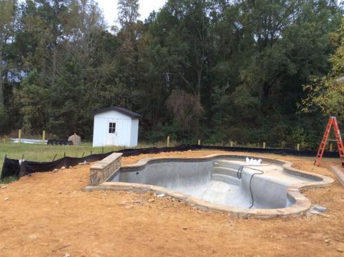 Pool Rough-in